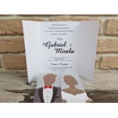 Invitatie de nunta 2742 POPULAR