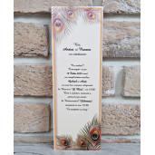 Invitatie de nunta 2757 POPULAR