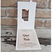 Invitatie de nunta 2768 POPULAR