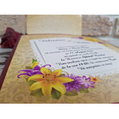 Invitatie de nunta 2774 POPULAR