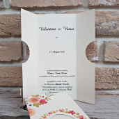 Invitatie de nunta 2781 POPULAR