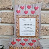 Invitatie de nunta 2788 POPULAR