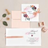 Invitatie florala 39708 CLARA