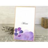 Meniu cu motiv floral 3635 CLARA