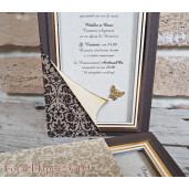 Invitatie de nunta eleganta 3709 SEDEF