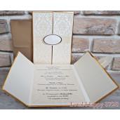Invitatie de nunta eleganta 3728 SEDEF