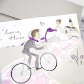 Invitatie de nunta haioasa 39220 CLARA
