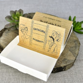 Invitatie 3D tip valiza cu tema foto 39309 EMMA