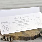 Invitatie cu model floral 39327 EMMA