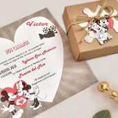 Invitatie puzzle cu Mickey 39738 CLARA