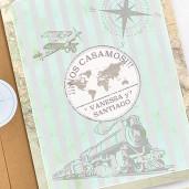 Invitatie vintage de calatorie 39743 CLARA