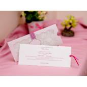 Invitatie de nunta dantelata 426