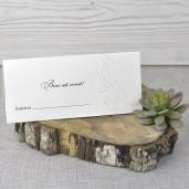 Plic de bani crem cu tema florala 5321 EMMA