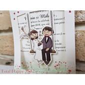 Invitatie de nunta 5582 CONCEPT