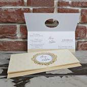Invitatie de nunta in stil baroc 5620 CONCEPT