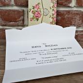 Invitatie de nunta cu bujori si inimioara 5633 CONCEPT