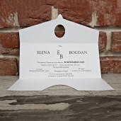 Invitatie de nunta vintage 5662 CONCEPT