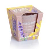 Lumanare parfumata Lavanda si Lamaie 115 g BC6170