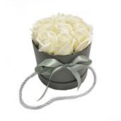 Aranjament Cadou cu Flori de Sapun Parfumate DEC103
