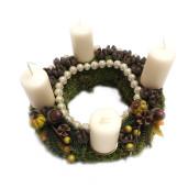 Aranjament Coronita pentru Advent cu 4 lumanari DEC108