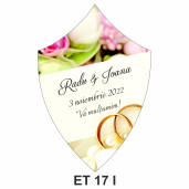 Eticheta pentru sticla ET 17 I