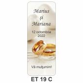 Eticheta pentru sticla ET 19 C