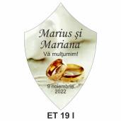 Eticheta pentru sticla ET 19 I