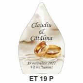 Eticheta pentru sticla ET 19 P