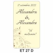 Eticheta autocolanta ET 27 D