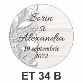 Eticheta mica ET 34 B