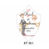 Eticheta pentru sticla ET 35