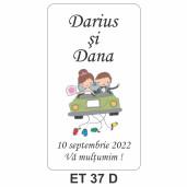 Eticheta autocolanta ET 37 D