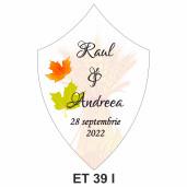 Eticheta pentru sticla ET 39