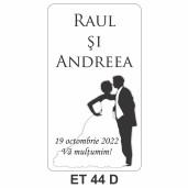 Eticheta autocolanta ET 44 D