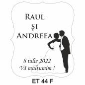 Eticheta pentru sticla ET 44 F
