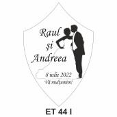Eticheta pentru sticla ET 44