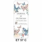 Eticheta pentru sticla ET 57 C