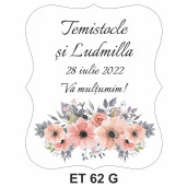 Eticheta pentru sticla ET 62 G