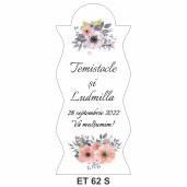 Eticheta pentru sticla ET 62 S