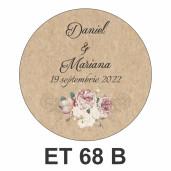 Eticheta mica ET 68 B