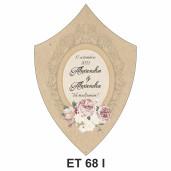 Eticheta pentru sticla ET 68 I