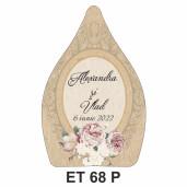 Eticheta pentru sticla ET 68 P