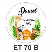 Eticheta mica ET 70 B