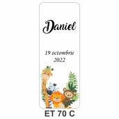 Eticheta pentru sticla ET 70 C