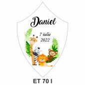 Eticheta pentru sticla ET 70 I
