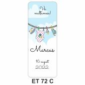 Eticheta pentru sticla ET 72 C