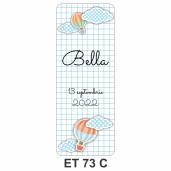 Eticheta pentru sticla ET 73 C