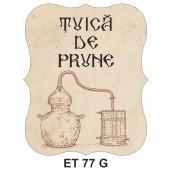 Eticheta pentru sticla ET 77 G