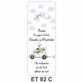 Eticheta pentru sticla ET 82 C