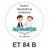 Eticheta mica ET 84 B